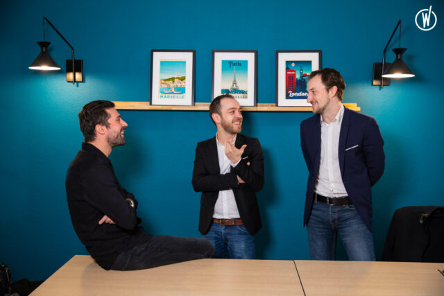 3 cofondateurs Smart Tribune